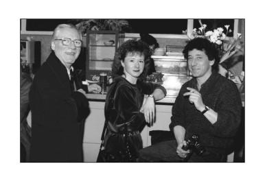 Jules Steinmetz, Nathalie Barban et Michel Sfez.